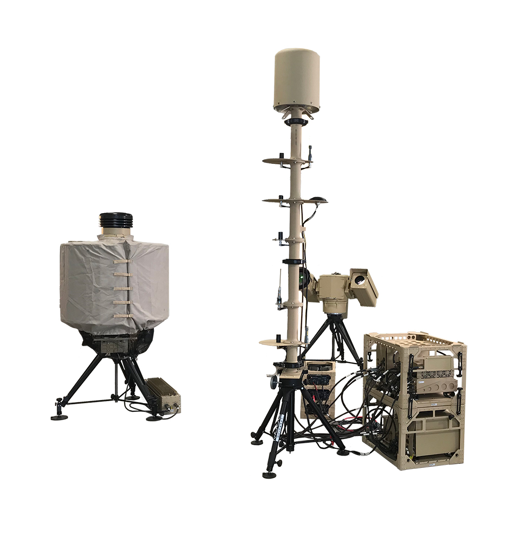 SRC Inc.'s counter-UAS radar, camera and electronic warfare technology